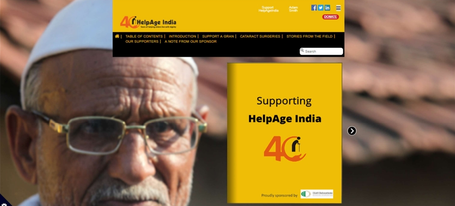 ikan relocations csr helpage india