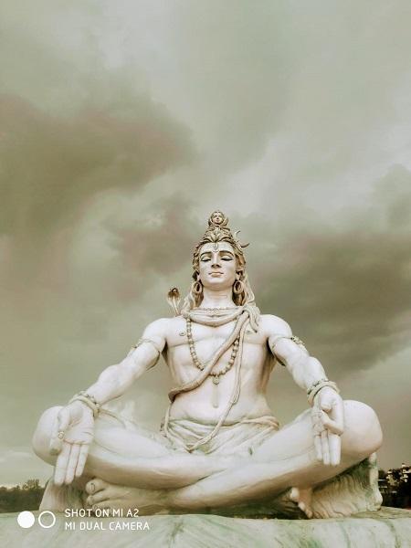Lord Shiva Statue Rishikesh