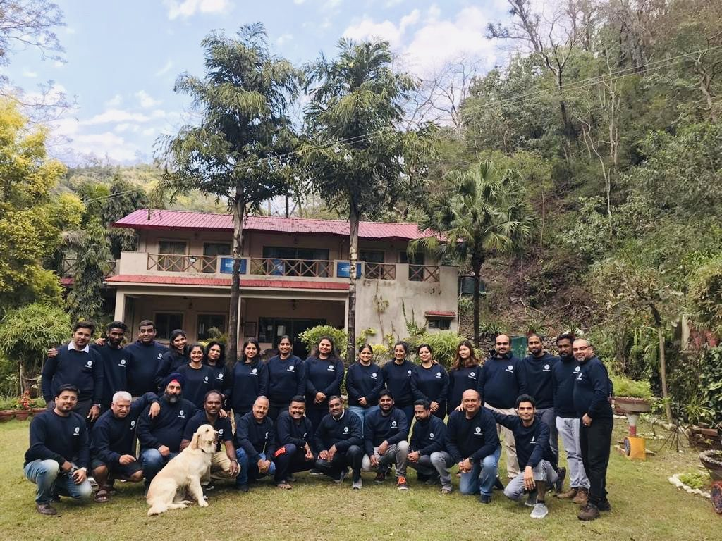 IKAN Relocation management team at Rishikesh