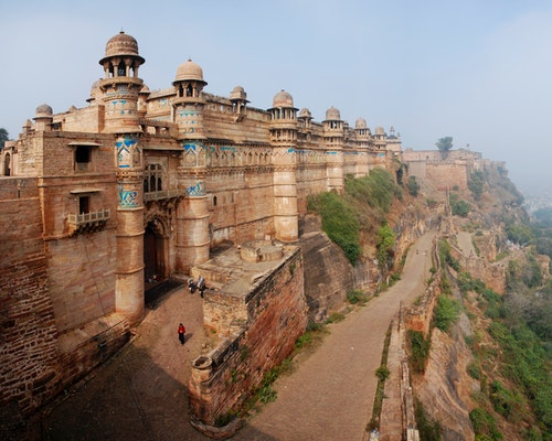 gwalior city fort