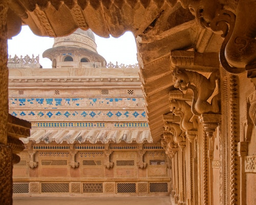 gwalior fort inside